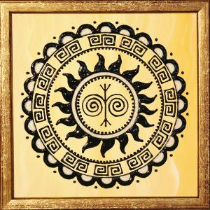 Mandala na tetovanie 9